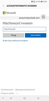 Samsung Galaxy A8 Plus - E-mail - handmatig instellen (outlook) - Stap 8