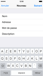 Apple iPhone 5c - E-mail - Configuration manuelle - Étape 9