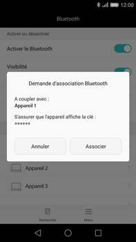 Huawei G8 - Bluetooth - connexion Bluetooth - Étape 8