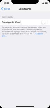 Apple iPhone X - Device maintenance - Back up - Étape 11