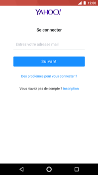 Nokia 6 (2018) - E-mail - Configuration manuelle (yahoo) - Étape 8