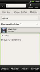 HTC Z520e One S - E-mail - envoyer un e-mail - Étape 13