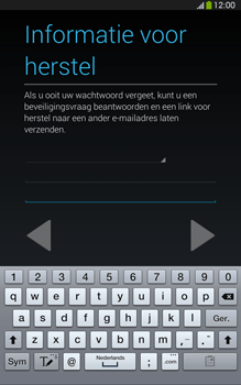 Samsung T315 Galaxy Tab 3 8-0 LTE - Applicaties - Account aanmaken - Stap 15