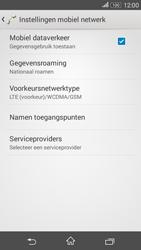 Sony E2003 Xperia E4 G - Netwerk - Gebruik in het buitenland - Stap 6