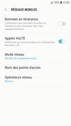 Samsung G925F Galaxy S6 Edge - Android Nougat - Réseau - Activer 4G/LTE - Étape 8