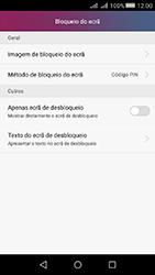 Huawei Y5 II - Segurança - Como ativar o código de bloqueio do ecrã -  10