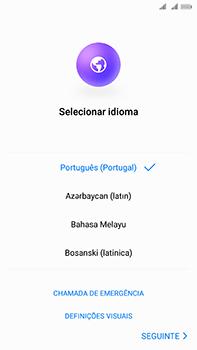 Huawei Mate 10 - Primeiros passos - Como ligar o telemóvel pela primeira vez -  6