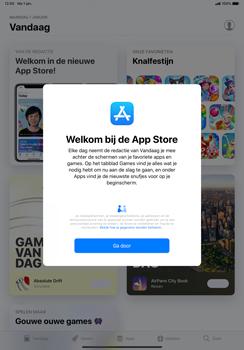 Apple ipad-pro-11-inch-2018-model-a1934 - Applicaties - Account aanmaken - Stap 3
