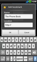 LG P970 Optimus Black - Internet - Internet browsing - Step 8