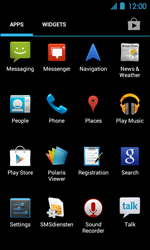 Acer Liquid Glow E330 - Applications - Downloading applications - Step 3