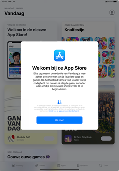 Apple ipad-pro-11-inch-2018-model-a1934 - Applicaties - Account aanmaken - Stap 24