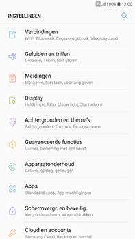 Samsung J730F Galaxy J7 (2017) (DualSIM) - Internet - aan- of uitzetten - Stap 4