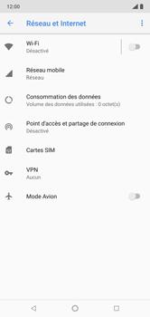Nokia 7.1 - Internet et connexion - Accéder au réseau Wi-Fi - Étape 5