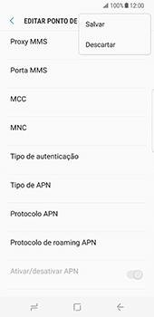 Samsung Galaxy S8 - Internet no telemóvel - Como configurar ligação à internet -  16