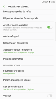 Samsung Galaxy S6 Edge+ - Android Nougat - Messagerie vocale - configuration manuelle - Étape 7