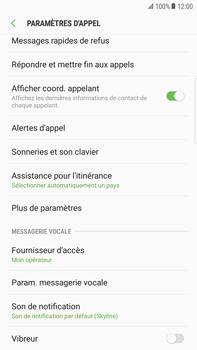Samsung Galaxy S6 Edge+ - Android Nougat - Messagerie vocale - configuration manuelle - Étape 7
