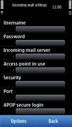Nokia N8-00 - Email - Manual configuration - Step 19