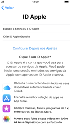 Apple iPhone 6 - iOS 12 - Primeiros passos - Como ativar seu aparelho - Etapa 17