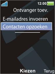 Sony Ericsson C903 - E-mail - Hoe te versturen - Stap 7
