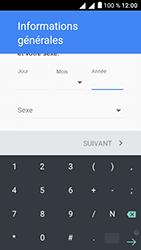Alcatel U5 - Applications - Créer un compte - Étape 8