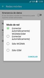 Samsung Galaxy J5 - Red - Seleccionar el tipo de red - Paso 6