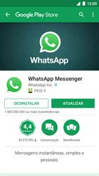 NOS NOVU II - Aplicações - Como configurar o WhatsApp -  9