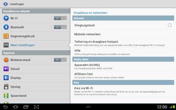 Samsung N8020 Galaxy Note 10-1 LTE - Internet - Uitzetten - Stap 5