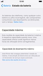 Apple iPhone SE - iOS 11 - Bateria - Desactivar a gestão de desempenho -  9