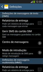 Samsung Galaxy Grand Neo - SMS - Como configurar o centro de mensagens -  6