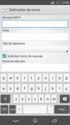 Sony Xperia M2 - Email - Configurar a conta de Email -  13