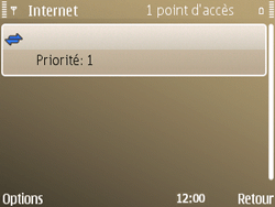 Nokia E72 - Internet - configuration manuelle - Étape 13