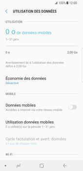Samsung Galaxy S8 - Android Oreo - Internet - activer ou désactiver - Étape 7