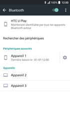 HTC U Play - Bluetooth - Jumeler avec un appareil - Étape 8