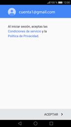 Huawei P9 Lite - E-mail - Configurar Gmail - Paso 13