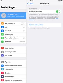 Apple Apple iPad Pro 9.7 - iOS 11 - Device maintenance - Back up - Stap 14