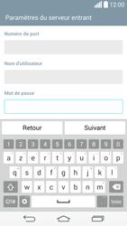 LG D855 G3 - E-mails - Ajouter ou modifier un compte e-mail - Étape 11