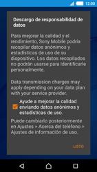 Sony Xperia M4 Aqua - Primeros pasos - Activar el equipo - Paso 11