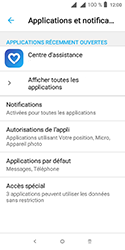 Alcatel 1 - Applications - Supprimer une application - Étape 5