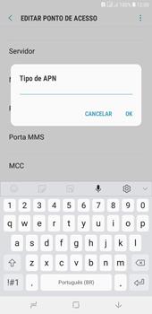 Samsung J4+ - Internet (APN) - Como configurar a internet do seu aparelho (APN Nextel) - Etapa 14