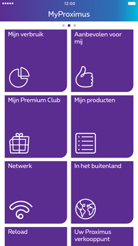 Apple Apple iPhone 6 Plus - iOS 10 - Applicaties - MyProximus - Stap 17