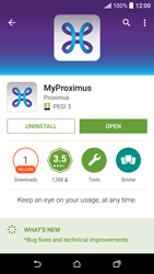 HTC Desire 530 - Applications - MyProximus - Step 9