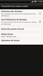 HTC S720e One X - Internet - Configuration manuelle - Étape 6