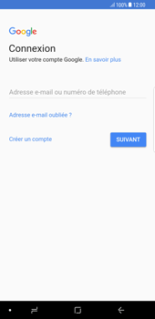 Samsung Galaxy S8 Plus - Android Oreo - Applications - Créer un compte - Étape 4