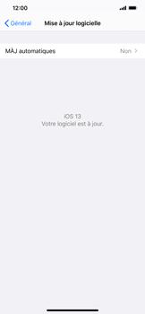 Apple iPhone XR - iOS 13 - Appareil - Mise à jour logicielle - Étape 7