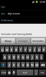 Samsung I8160 Galaxy Ace II - E-mail - E-mails verzenden - Stap 7