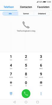 Huawei Mate 10 Lite (Model RNE-L21) - Voicemail - Handmatig instellen - Stap 3