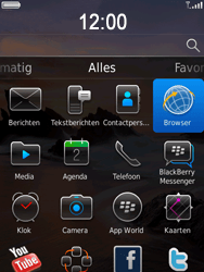 BlackBerry 9800 Torch - Internet - Hoe te internetten - Stap 2