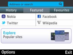 Nokia Asha 210 - Internet - Internet browsing - Step 3