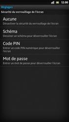 Sony Xpéria S - Sécuriser votre mobile - Activer le code de verrouillage - Étape 6