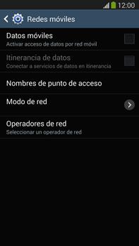 Samsung Galaxy Note 3 - Internet - Activar o desactivar la conexión de datos - Paso 8